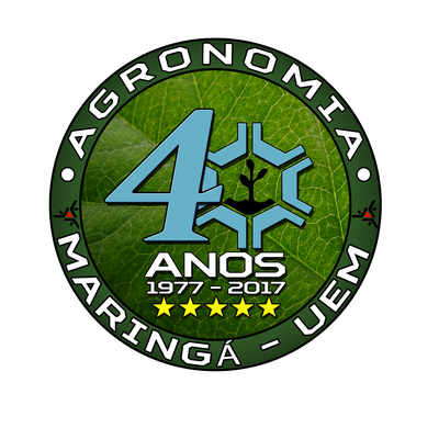 Logo de comemoração dag 40 anos