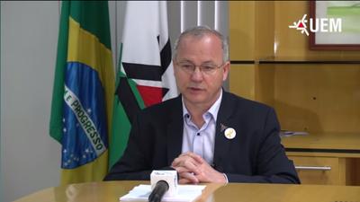 Reitor fala sobre bloqueio de contas da UEM