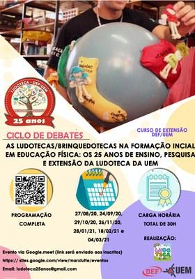 Imagem - Evento de Extensão: Ciclo de Debates - As Ludotecas/Brinquedotecas