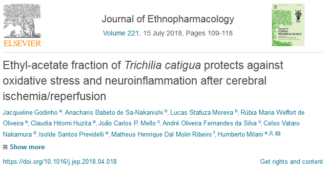 """Publication in the """"Journal of Ethnopharmacology"""""""