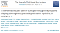 "Publication in ""The Journal of Nutritional Biochemistry"""