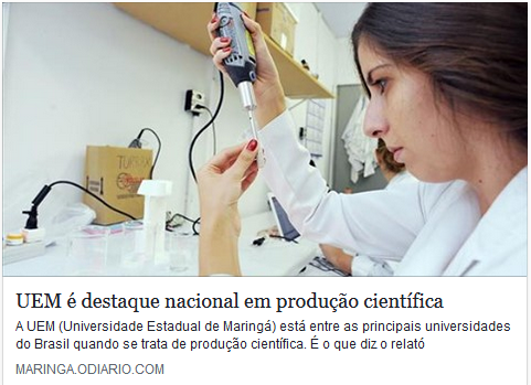UEM is a national highlight in scientific production