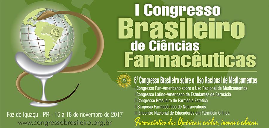 I Congresso Brasileiro de Ciências Farmacêuticas