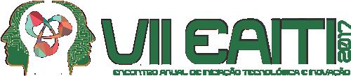VII Encontro Anual de Iniciação Tecnológica e Inovação