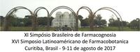 XI Simpósio Brasileiro de Farmacognosia e XVI Simposio Latinoaméricano de Farmacobotanica