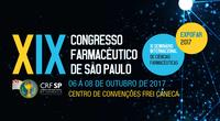 XIX Congresso Farmacêutico de São Paulo, XI Seminário Internacional de Ciências Farmacêuticas e Expofar 2017