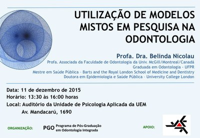 Utilização de modelos mistos em pesquisa na Odontologia