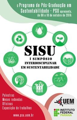 I Simpósio Interdisciplinar de Sustentabilidade