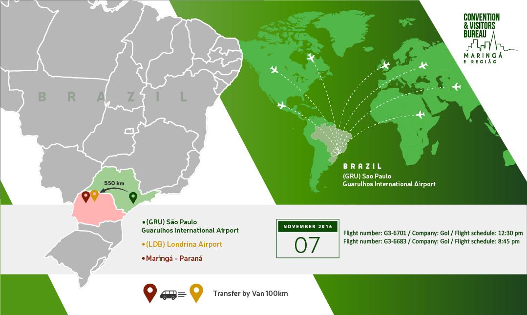 How to Arrive - Londrina