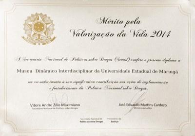 Diploma Premiação curitiba