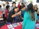 Projeto Tabagismo Participa da Feira de Saúde e Bem Estar de Jussara - Pr